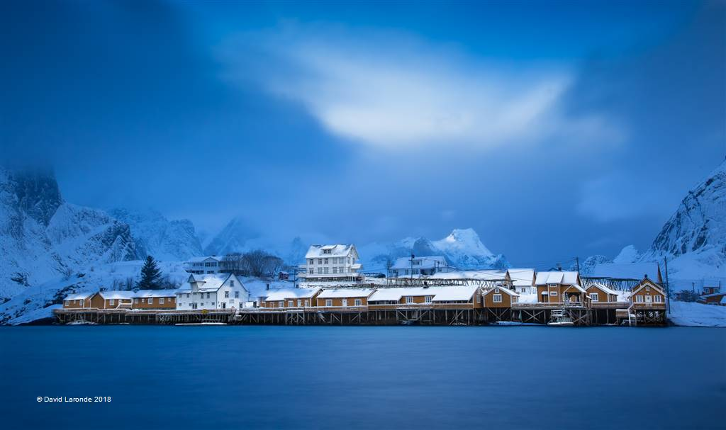 David Laronde – Norwegian Fishing Town – Photo Travel