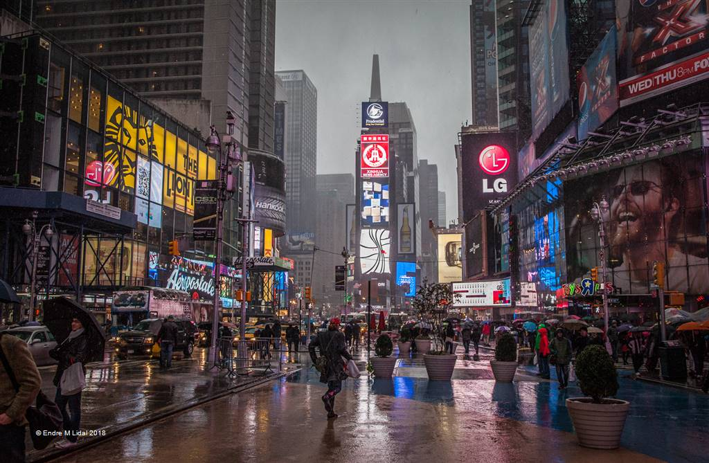 Endre M Lidal – Times Square Nyc – Photo Travel