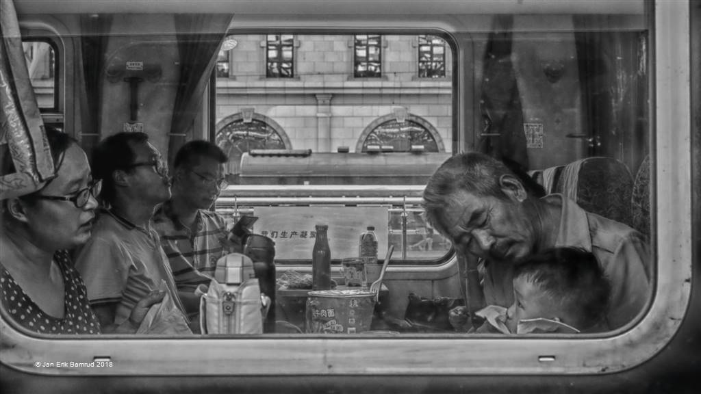 Jan Erik Bamrud – Train Travellers – Photo Travel