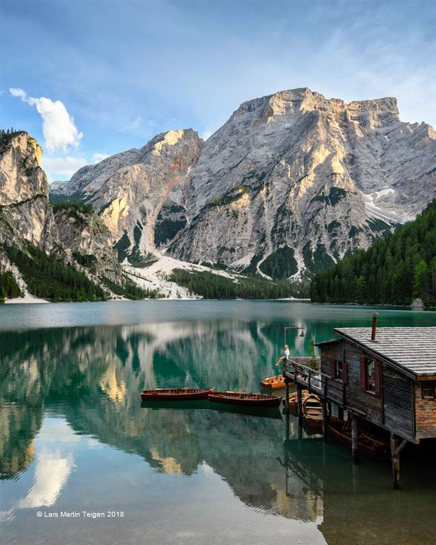 Lars Martin Teigen – Lago Di Braies Boat House – Photo Travel