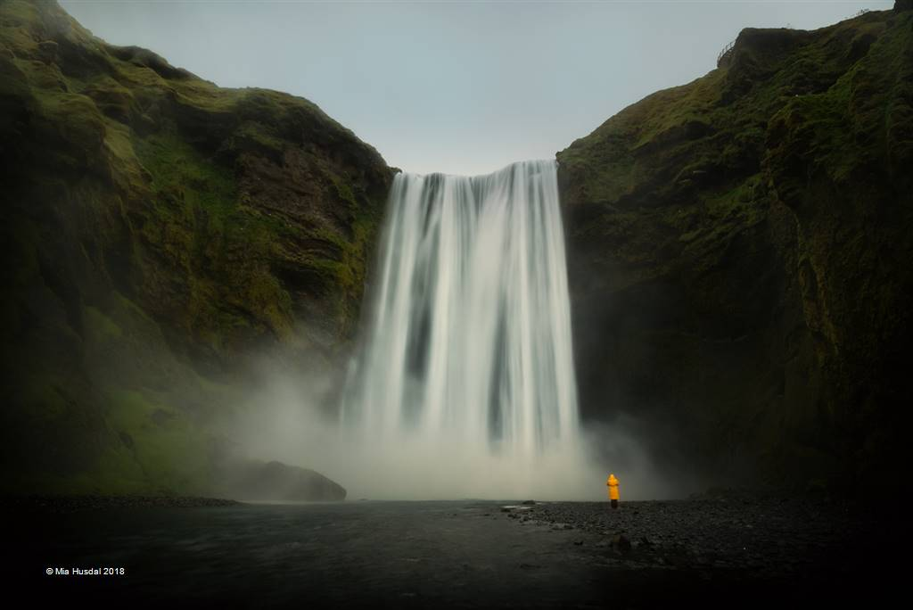 Mia Husdal – Skogafoss – Open Colour