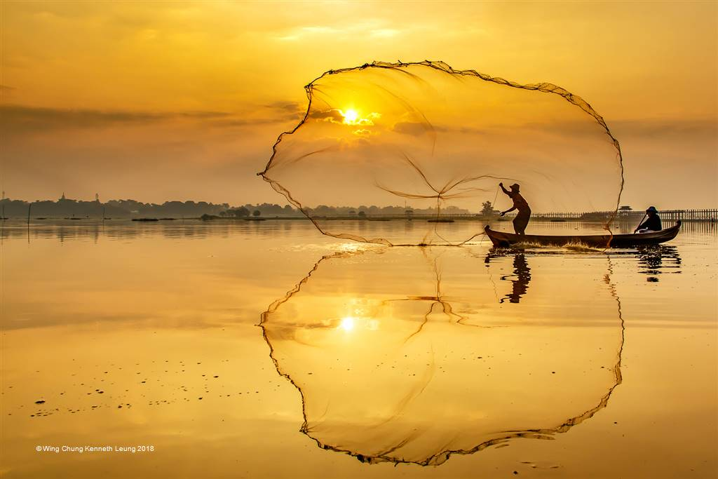 Wing Chung Kenneth Leung – Sunrise Fishing – Photo Travel